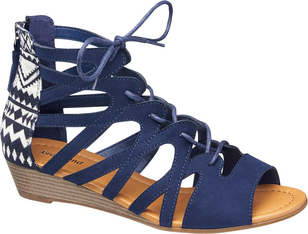 Lace Up Sandal