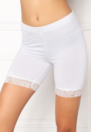 77thFLEA Juli short lace leggings White L