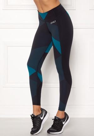 2XU Fitness Compression Tight Black/dark Char Jagg XS