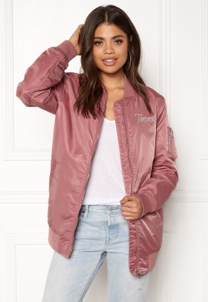 TOMMY HILFIGER DENIM THDW Nylon Bomber Withered Rose L