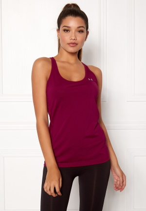 Under Armour Armour Racer Tank Black Currant L