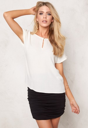 VERO MODA Asta SS Blouse Snow White XL