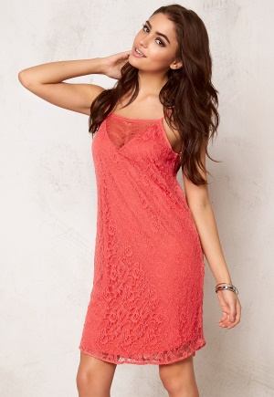 VERO MODA Fifi Nice Lace S Dress Rose of Sharon XS