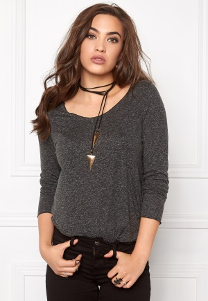 VERO MODA Lua LS Top Black XL