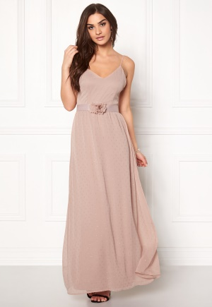 VERO MODA Tia Corsage Maxi Dress Rose Dust XS
