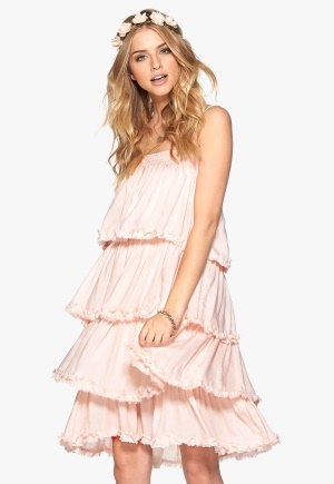 VILA Allo Dress Peach Blush M