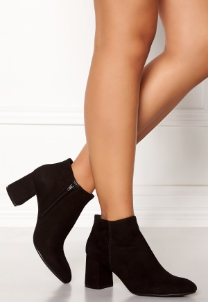 Billi Bi Black Suede Booties Black 36