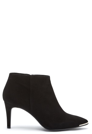 Billi Bi Black Suede High Booties Black 36