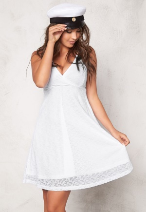 BUBBLEROOM Paris lace dress White L