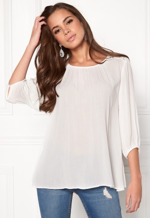 b.young Gelio Blouse Off White 38