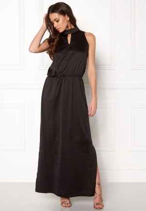 b.young Ingeborg Long Dress Black 34