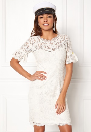 Chiara Forthi Cloelle Lace Dress Antique white 34