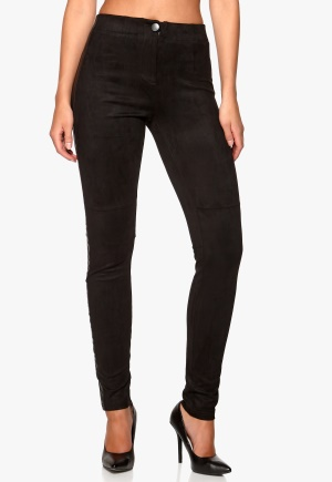 F.A.V Suede Pants Black 1