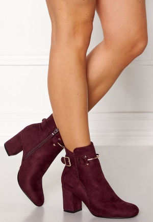 Glossy Halle Boots Wine 36 (UK3)