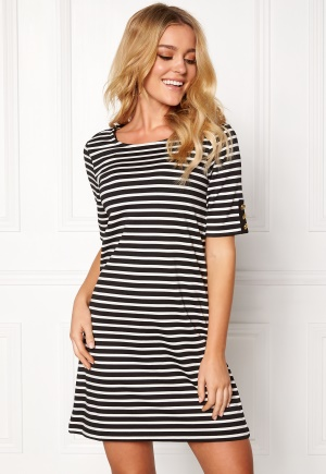 Happy Holly Alex dress Black / Offwhite 32/34