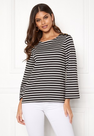 Happy Holly Alex top Black / Offwhite 32/34