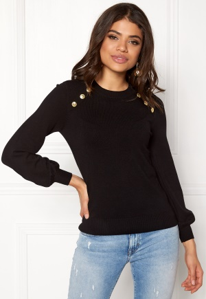 Happy Holly Amelia sweater Black 44/46