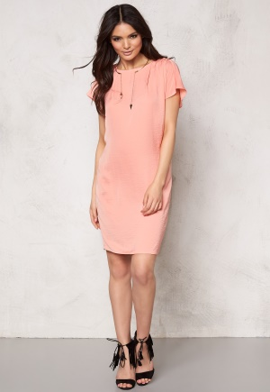 ICHI Fay Dress 16015 Coral Haze XS