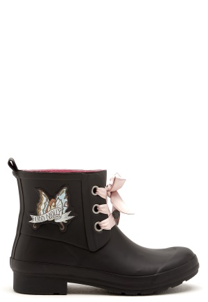 Odd Molly Low Tide Rainboot Almost Black 36