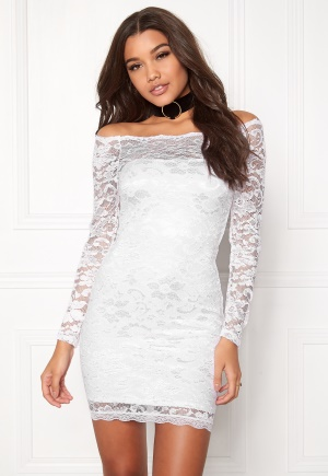 Model Behaviour Stina Dress White XL