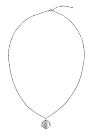 MUSE Zangenberg Long Necklace Mat Silver One size