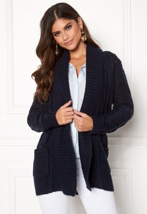 New Look Cable Cardigan Navy L (UK14)