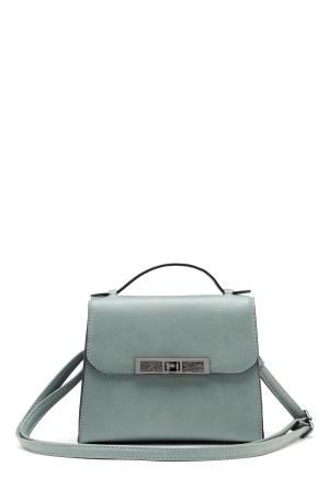 New Look Carly Diamante Mini Bag Pale Blue One size