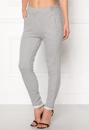 NÜMPH Tweena Pants L.Grey Melange L