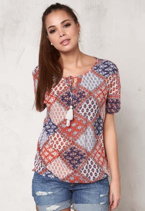 OBJECT Abigail S/S Top Emberglow 34