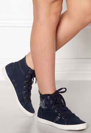 Odd Molly Butterfly High Sneakers Dark Blue 36