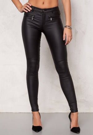 ONLY Natalie Coated Trousers Black L