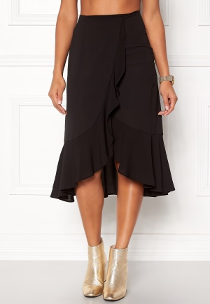 ONLY Ella Flounce Skirt Black M