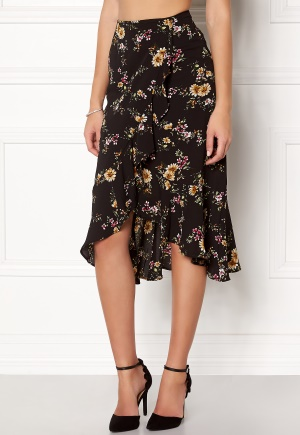 ONLY Ella Flounce Skirt Flowers L