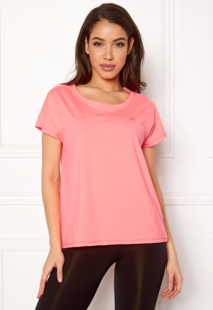 ONLY PLAY Aubree SS Loose Tee Lipstick Pink L