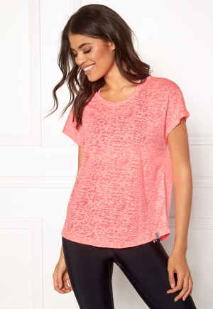 ONLY PLAY Beate Loose SS Tee Lipstick Pink L