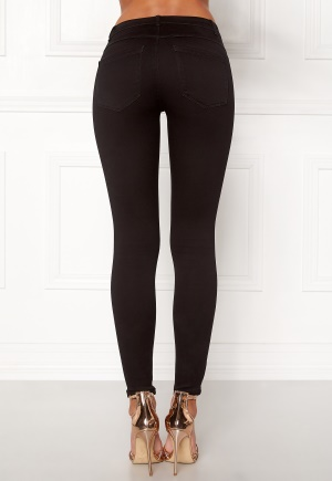 ONLY Royal Skinny Zip Black S/32