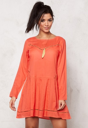 Rut & Circle Masie Dress Pop Coral 34
