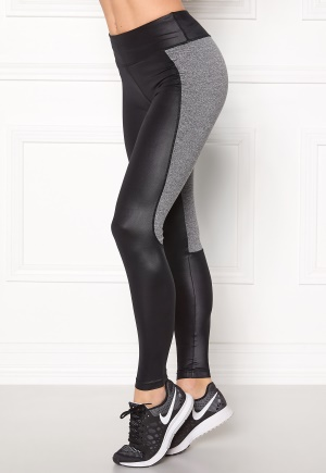 Shape Me Up Freja Tights Black/Grey Melange M