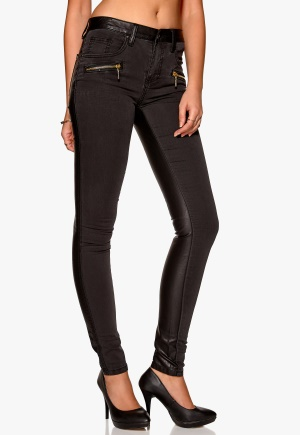Sisters Point Feb Pants 000 Black Coated XS
