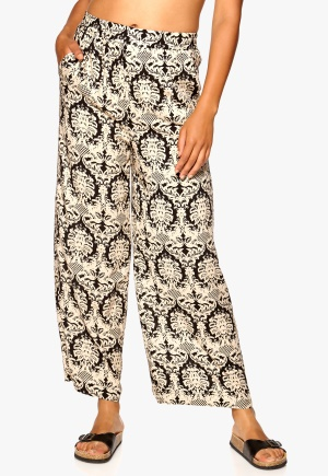 Sisters Point Grimy Pants Black/Beige XS