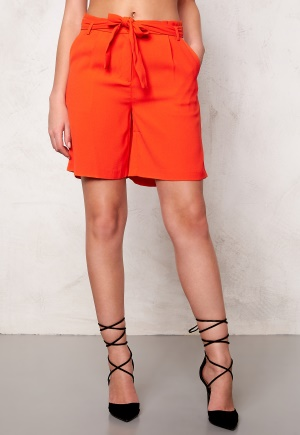 SOAKED IN LUXURY Shirley Shorts Tangerine L