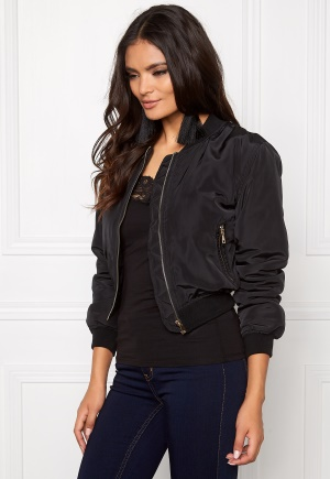 Mixed from Italy Bomber Jacket Black L (UK14)